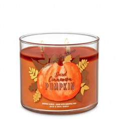 BBW bougie sweet cinnamon pumpkin