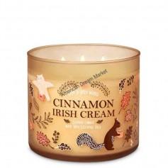 BBW bougie cinnamon irish cream