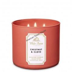 BBW bougie chestnut and clove