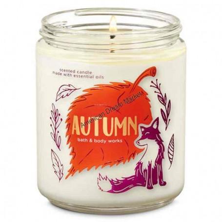 BBW bougie 1 mèche autumn
