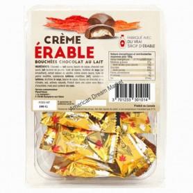 Chocolat crème d'érable 100g