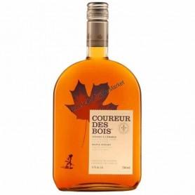 Coureur des bois whisky à l'érable