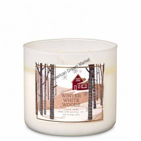 BBW bougie winter white woods