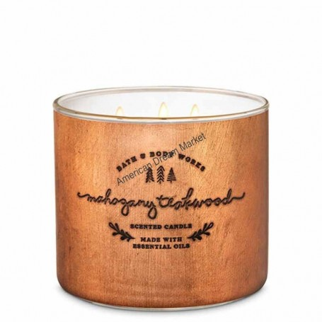 BBW bougie mahogany teakwood