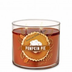 BBW bougie pumpkin pie