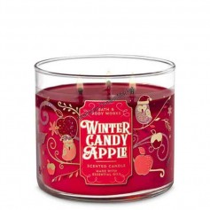 BBW bougie winter candy apple
