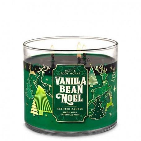 BBW bougie vanilla bean noel
