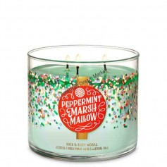 BBW bougie peppermint marshmallow