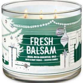 BBW bougie fresh balsam