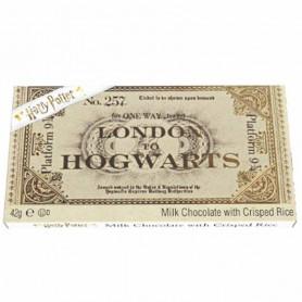 Harry Potter ticket train en chocolat