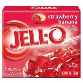 Jell-O Gellée fraise / banane