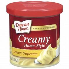 Duncan hines creamy lemon supreme frosting