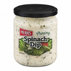Herr's creamy spinach dip