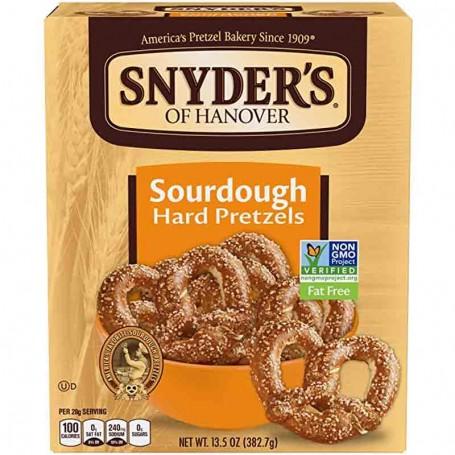 Snyder's sourdough hard pretzel