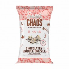 Sweet chaos chocolatey double drizzle popcorn
