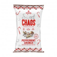 Sweet chaos peppermint crunch popcorn