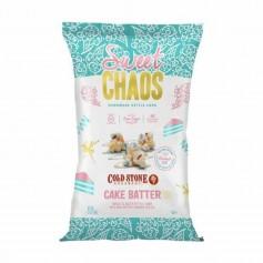 Sweet chaos cake batter popcorn