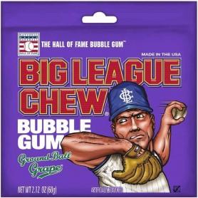 Big league baseball bubble gum grape