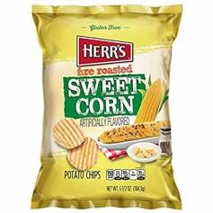 Herr's fire roasted sweet corn chips