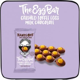 Hand off my chocolate - crushed toffee eggs