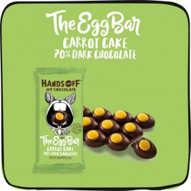 Hand off my chocolate - carrot cake eggs bar