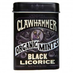 Clawhammer black licorice