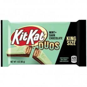Kitkat duos mint + dark choc king size