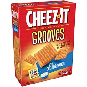 Cheez-it grooves cheddar ranch GM