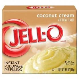 Jell-O pudding coconut cream