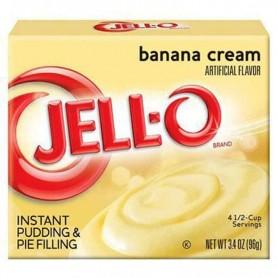 Jell-O pudding banana cream