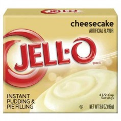 Jell-O pudding cheesecake