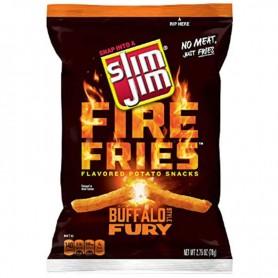 Slim jim fire fries buffalo fury