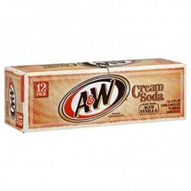 A&W cream soda X12