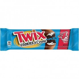 Twix cookie and creme 4 to go