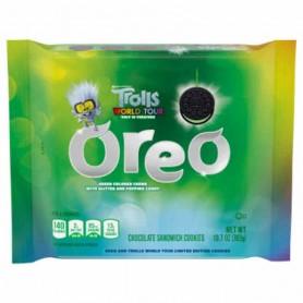 Oreo trolls wolrd tour green