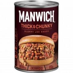 Manwick thick and chunky sloppy joes sauce