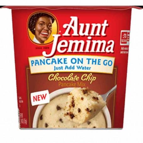 Aunt jemima pancake on the go chocolate chip