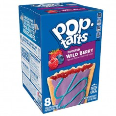 Pop tarts frosted wild berry