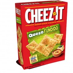 Cheez-it queso fundido GM