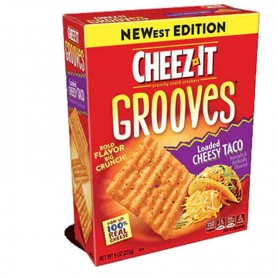 Cheez-it grooves white cheddar GM