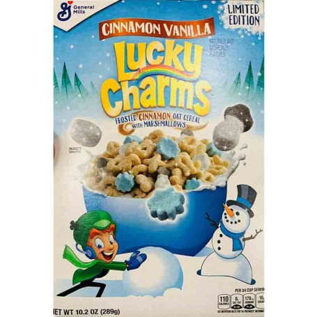 Lucky charms cinnamon vanilla