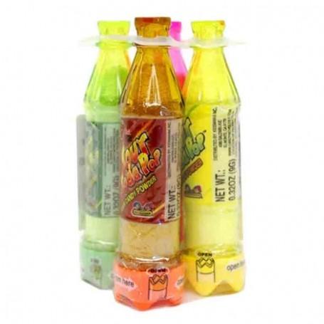 Soda pop bottle sour candy