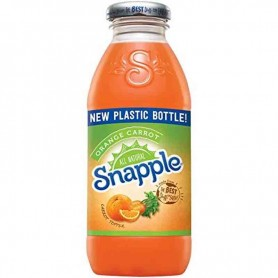 Snapple orange carrot