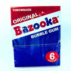 Original bazooka bubble gum