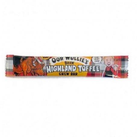 Oor wullie's highland toffee chew bar
