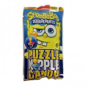 Spongebob quarepants puzzle candy
