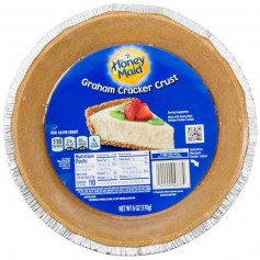 Honey maid graham cracker crust pie