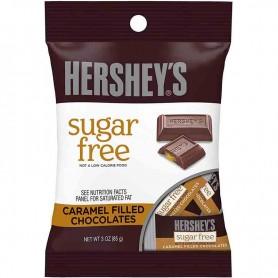 Hershey's sugar free caramel filled chocolates