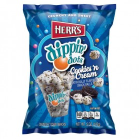 Herr's dippin'dots cookie n cream