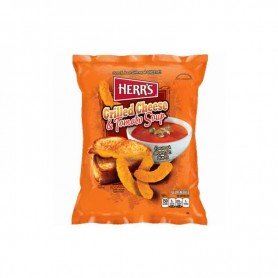 Herr's grilled cheese and tomato soup GM